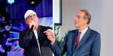 Pizzera & Jaus, DJ Ötzi bei Schulkonzert mit Minister