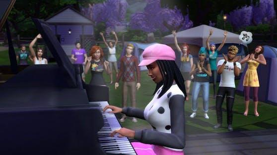 """""""Die Sims 4"""" rockt diesen Sommer die Bühne mit den """"Sims Sessions"""", einem neuen Musikfestival im Spiel."""