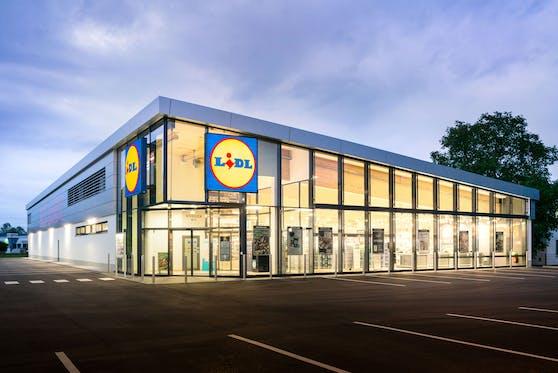 Eine Lidl-Filiale in Österreich. Symbolbild