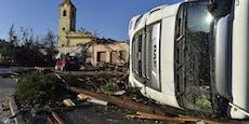 Tschechische Tornado-Orte in trotziger Aufbruchstimmung