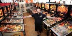 Mühlviertler (36) hat 1.000 Automaten zu Hause stehen
