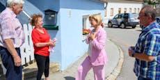300 Häuser in Schrattenberg durch Unwetter zerstört