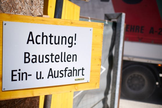 In Wien wird die Zufahrt zur Nordbrücke eine Baustelle. Symbolbild.