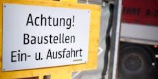 Bauarbeiten führen zu wochenlanger Umleitung in Wien