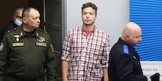 Blogger Protasewitsch und Freundin nun im Hausarrest