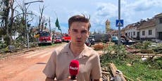 """Heute""-Reporter im Zentrum der Tornado-""Apokalypse"""