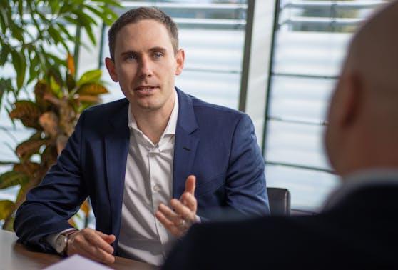 Alessandro Wolf, Vorsitzender der Geschäftsleitung von Lidl Österreich