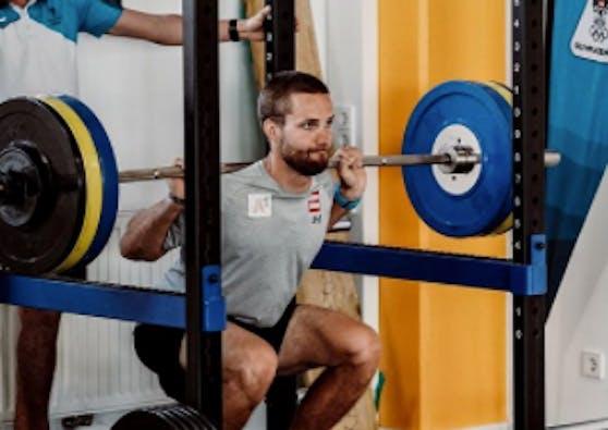 Marco Schwarz bereitet sich auf die neue Saison vor.