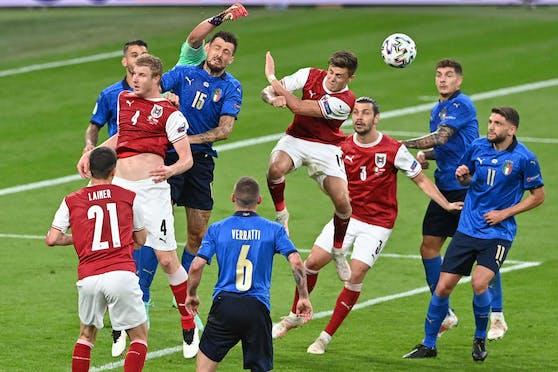 Österreich lieferte Italien einen sehr harten Kampf