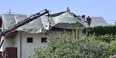 Zwei Orte in NÖ nach Unwettern nun Katastrophen-Gebiete
