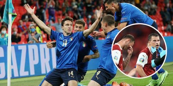Federico Chiesa schießt Italien zum Sieg, Österreich ins Tal der Tränen.
