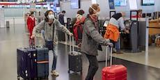 Touristen schleppen Delta-Variante am Airport Wien ein