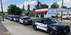 Mann erschießt Amokläufer, wird von Polizisten getötet