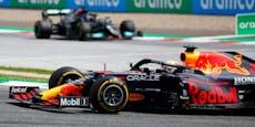 Hamilton geschlagen! Verstappen mit Spielberg-Heimsieg