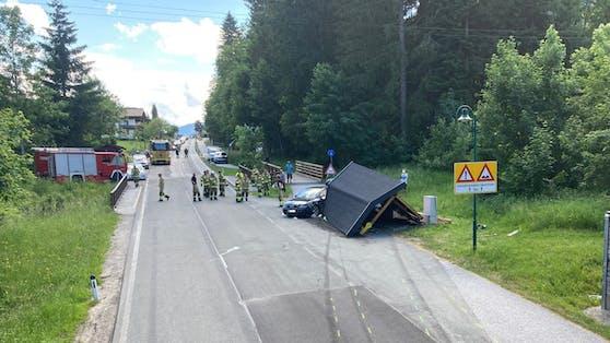 In Salzburg ist es nach einem Verkehrsunfall zu Fahrerflucht gekommen.