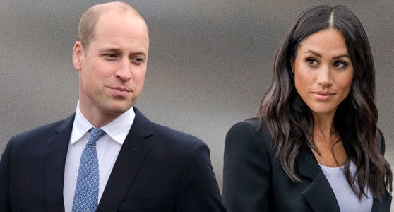 Prinz William und Meghan Markle