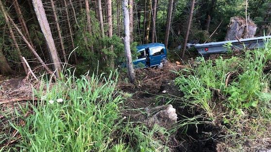 Der Unfall in Rohrberg ereignete sich aus unbekannter Ursache.
