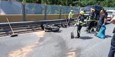 Biker (36) hatte bei Crash mit Auto keine Chance