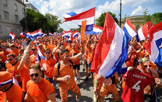Niederlande-Fans