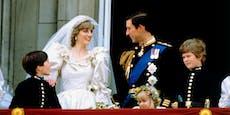 So traurig warLady Diana nach ihrer Hochzeit