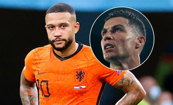 Die Niederlande und Portugal (r. Ronaldo) sind gescheitert