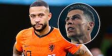 Achtelfinal-Überblick: Ronaldo und Holland gescheitert