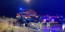 Pkw-Lenker rammte Wildsau bei Mannersdorf