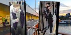 Polizei sucht Reichsbrücken-Räuber mit Fotos