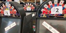 750 Glücksspielautomaten im Raum Wels sichergestellt