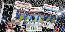 """Italiens Presse: """"Wir haben die Angst kennengelernt"""""""