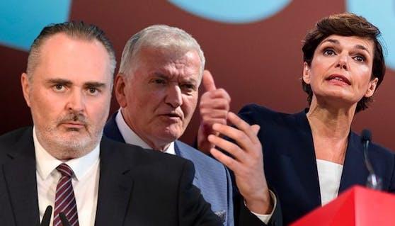Franz Schnabl und Hans Peter Doskozil über Ergebnis von Pamela Rendi-Wagner beim Bundesparteitag