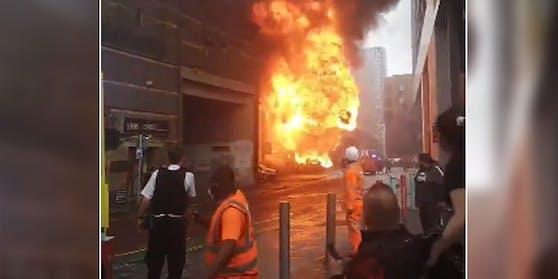 Im Süden von London ist es zu einer Explosion gekommen.