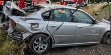 Unfall mit Fahrerflucht, Polizei fahndet nach SUV