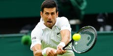Djokovic muss bei Wimbledon-Auftakt einen Satz abgeben