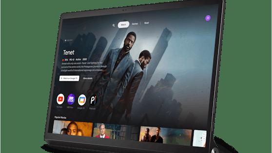 Das neue Lenovo Yoga Tab 13 kann auch als Zweitbildschirm für Laptops genutzt werden.