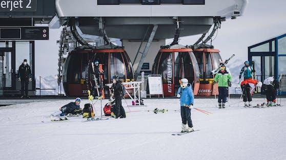 Piste am Skigebiet Kitzsteinhorn