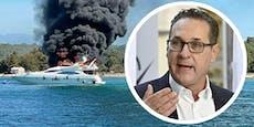 """Strache nach Yacht-Inferno: """"Niemand war betrunken!"""""""