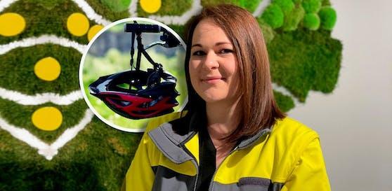 ÖAMTC OÖ Verkehrssicherheitsexpertin Petra Riener über Radhelme und die Sicherheit im Straßenverkehr.