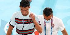Fan-Video zeigt, so sauer war Ronaldo nach Aus wirklich