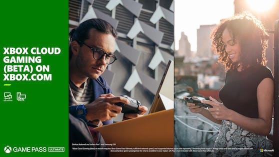 Xbox Cloud Gaming: Im Browser für PC, Apple-Smartphones & -Tablets verfügbar