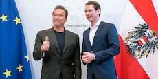 Arnie kommt nach Wien