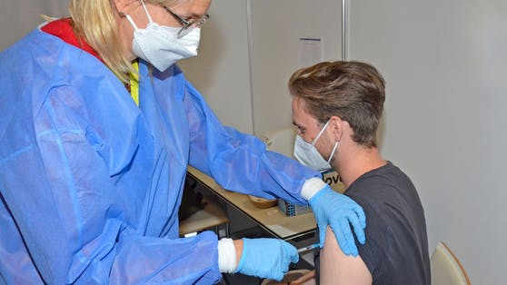 Covid-19-Impfung im Austria Center Vienna