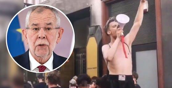 """Der Wiener Star-Designer Karl Michael fordert Rechte für """"LGBTQAI+""""-Personen."""
