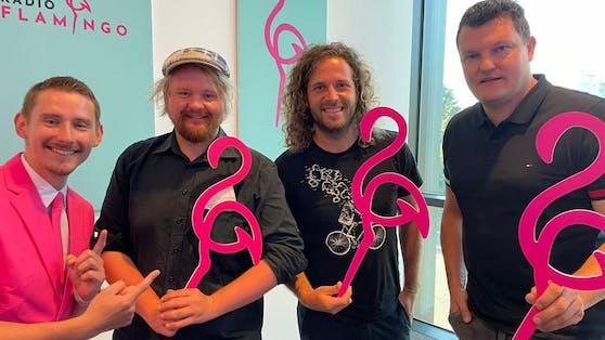 """Die """"Draufgänger"""" waren beim Senderstart von Radio Flamingo live dabei"""