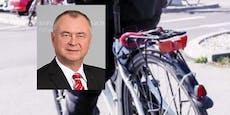 Fahrrad von Nationalrat aus Wohnhausanlage gestohlen