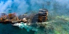 Sri Lanka droht Ölkatastrophe