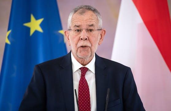 Bundespräsident Alexander Van der Bellen im Rahmen eines Staatsbesuches in Deutschland am 03.06.2021.