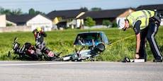 """""""Keine Erinnerung"""" nach Horror-Crash mit zwei Toten"""