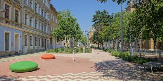 Der Familienplatz in Wien-Ottakring