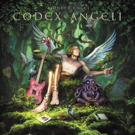 """Das Album Cover von Blonder Engel """"Codex Angeli"""""""